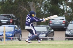 Suren Gallage posted 82 to give Parkfield something to defend against Berwick. 113135 Picture: JARROD POTTER