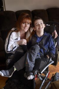 Raylene and Ace Bryans hope a fundraiser this weekend will make his life a little easier. 127397 Picture: ROB CAREW