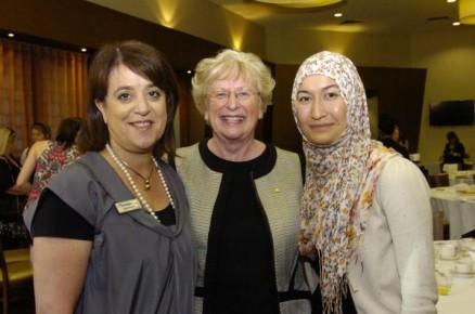 Speakers Maria Peters, Margo Hartley and Sahema Ssberi. 130703