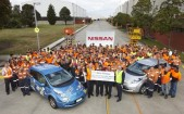 Nissan Casting Plant workers in 2013, supporting the Filipino typhoon appeal. 112417