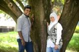 Hayuran Mahendiran and Farzana Nadiri have kicked on since joining the Young Leaders program. 149858 Picture: ROB CAREW